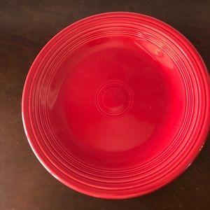 Fiesta ware plate